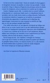 Boulet Rouge Pour Tableau Noir - 4ème de couverture - Format classique