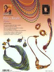Perles De Rocaille Elegance - 4ème de couverture - Format classique