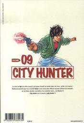 City hunter t.9 - 4ème de couverture - Format classique