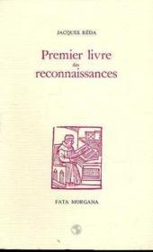 Premier Livre Des Reconnaissances - Couverture - Format classique
