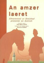 An Amzer Laeret - Couverture - Format classique