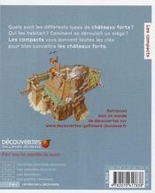 Châteaux forts - 4ème de couverture - Format classique