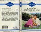L'Imprevu Couleur De Reve - Passage Of The Night - Couverture - Format classique