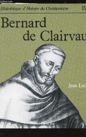 Bernard De Clairvaux - Couverture - Format classique