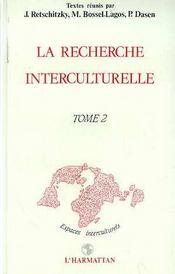 Recherche (2) Interculturelle - Intérieur - Format classique