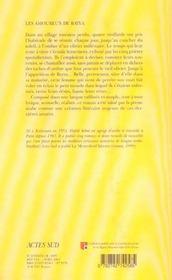 Amoureux de bayya - 4ème de couverture - Format classique