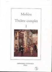 Theatre complet tome i (relie) - Couverture - Format classique