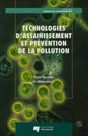 Technologies D'Assainissement Et Prevention De La Pollution - Couverture - Format classique
