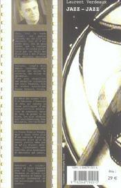 Jazz-jazz - 4ème de couverture - Format classique