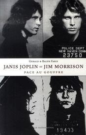 Janis joplin et jim morrison face au gouffre - Intérieur - Format classique