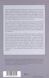 Le Crime Etait Presque Sexuel Et Autres Essais De Casuistique Juridique - 4ème de couverture - Format classique