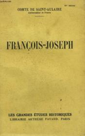 Francois Joseph. - Couverture - Format classique