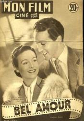 Mon Film N° 270 - Bel Amour - Couverture - Format classique