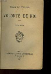Volonte De Roi - Couverture - Format classique