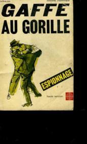 Gaffe Au Gorilles! - Couverture - Format classique