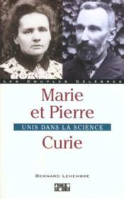 Pierre Et Marie Curie - Couverture - Format classique