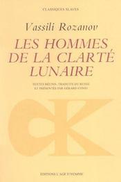 Hommes De La Clarte Lunaire (Les) - Intérieur - Format classique