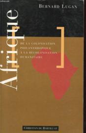 Afrique Colonisation Philanthropique Recolonisation - Couverture - Format classique