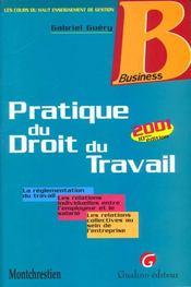 Pratique Du Droit Du Travail - Intérieur - Format classique