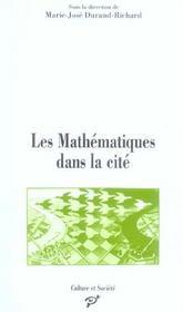 Les mathématiques dans la cité - Intérieur - Format classique