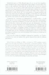 Metaphysique Du Sexe - 4ème de couverture - Format classique
