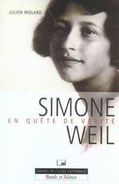 Simone Weil - En Quete De La Verite - Intérieur - Format classique