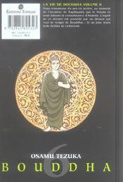 La vie de Bouddha t.6 - 4ème de couverture - Format classique