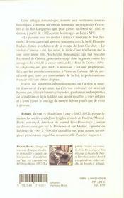 La cevenne embrasee - 4ème de couverture - Format classique