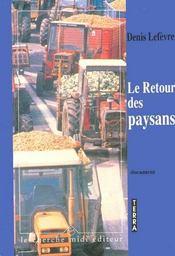 Le Retour Des Paysans - Intérieur - Format classique