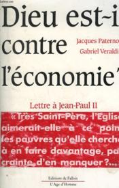 Dieu est-il contre l'economie - Couverture - Format classique