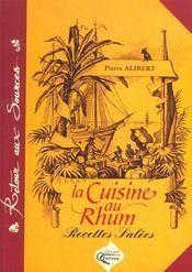 Cuisine Au Rhum Recettes Salees - Intérieur - Format classique