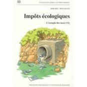 Impots Ecologiques - Couverture - Format classique
