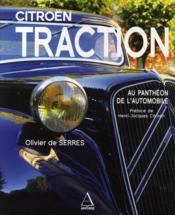 La Citroen Traction Au Pantheon De L'Automobile - Couverture - Format classique