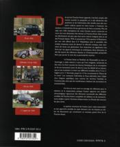 La Citroen Traction Au Pantheon De L'Automobile - 4ème de couverture - Format classique
