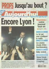 Aujourd'Hui En France N°600 du 21/05/2003 - Couverture - Format classique