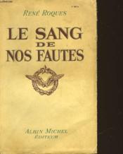 Le Sang De Nos Fautes - Couverture - Format classique
