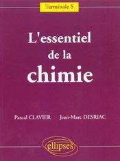L'Essentiel De La Chimie Terminale S - Intérieur - Format classique