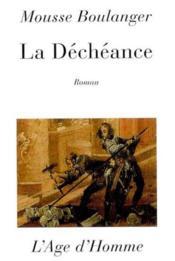 La Decheance - Couverture - Format classique