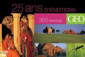 25 ans d'émotions en 365 photos - Intérieur - Format classique
