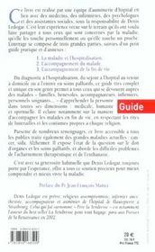 Au Chevet Des Malades - 4ème de couverture - Format classique