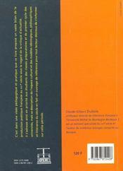 La Poesie Du 16e Siecle - 4ème de couverture - Format classique