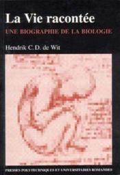 Vie Racontee - Couverture - Format classique