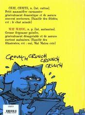 Matmatou T.2 ; Matmatou Sort Ses Griffes - 4ème de couverture - Format classique