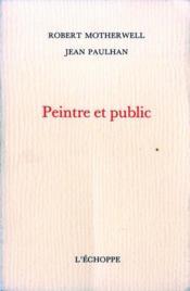 Peintre Et Public - Couverture - Format classique