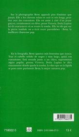 La nostalgie de la boue ; nostalgia del lodo - 4ème de couverture - Format classique