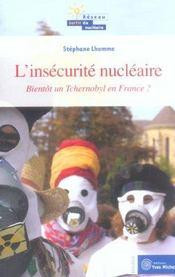Insecurite Nucleaire (L') - Intérieur - Format classique