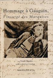 Hommage à Gauguin, l'insurgé des Marquises - Couverture - Format classique