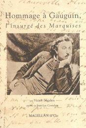 Hommage à Gauguin, l'insurgé des Marquises - Intérieur - Format classique