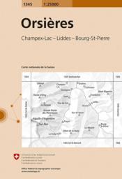 Orsieres - Couverture - Format classique