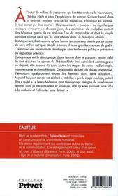 Vaincre Le Cancer Du Sein ; Mon Combat De Femme - 4ème de couverture - Format classique